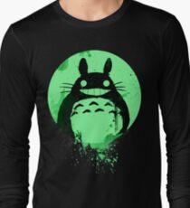 Totoro Ghibli Fanart ZOMBIE - by Mien Wayne Long Sleeve T-Shirt