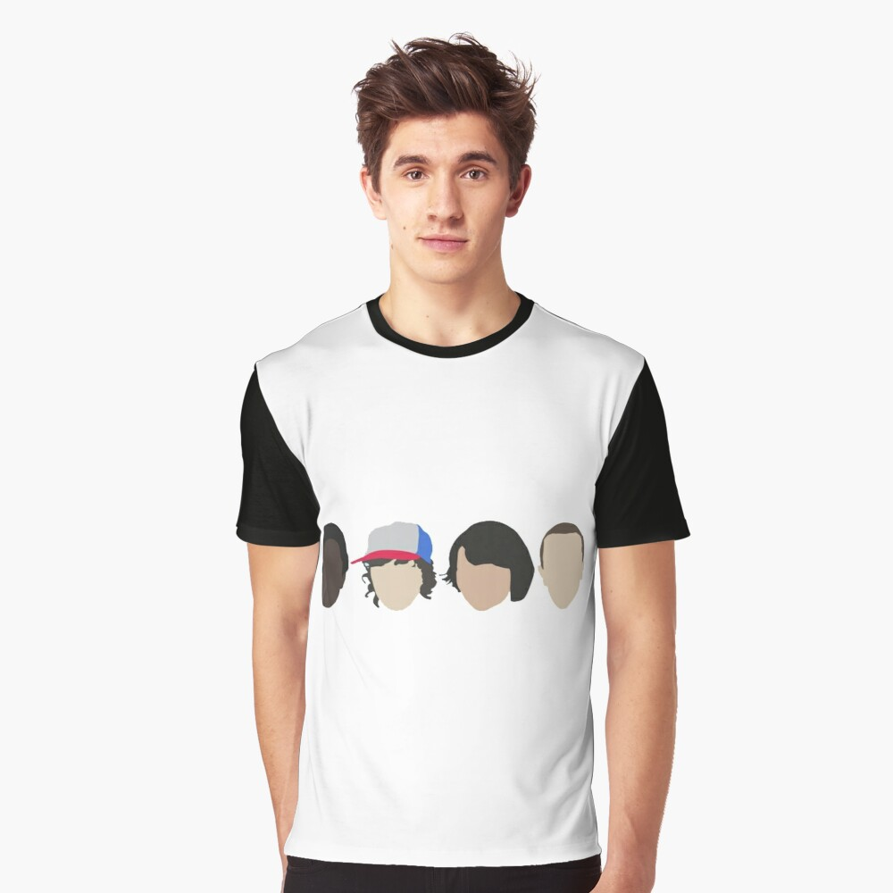 Stranger Things Graphic T-Shirt Front