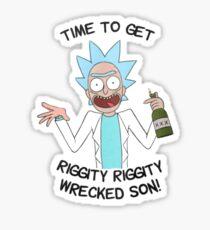 Ricky and Morty Sticker