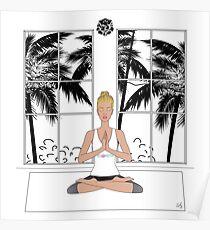 Yoga Girl..... Poster