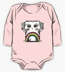 Rainbow Creature Long Sleeve Baby One-Piece