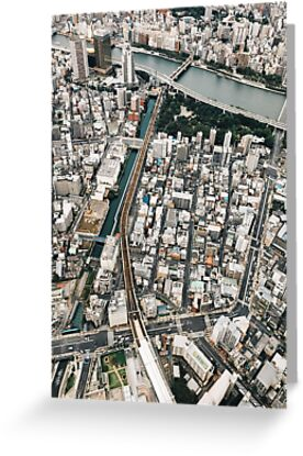 Japan - Tokyo From Above by visualspectrum