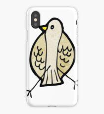 cartoon bird iPhone Case