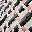 Brutalist Building Facade by visualspectrum