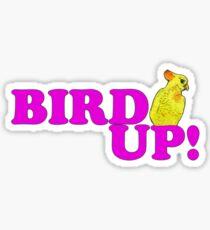 Vogel auf 2 Sticker