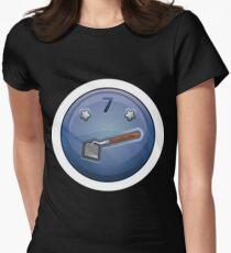 Wetdryvac Presents Glitch: achievement mulcher Women's Fitted T-Shirt