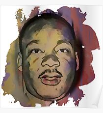 Martin Luther King Jr - MLK - Civil Rights Poster
