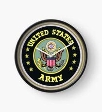 USA ARMY symbol Clock