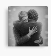 John and Sherlock Canvas Print