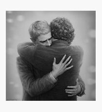 John and Sherlock Photographic Print