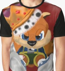 Conkers Bad Fur Day Graphic T-Shirt