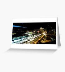 San Diego Night Sky Greeting Card
