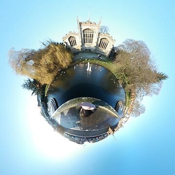 Small Planets - Hitchin, St Marys Church by TommyOne