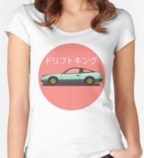 240sx Tailliertes Rundhals-Shirt