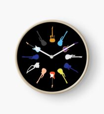 Prince guitars Clock