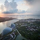Singapore Sunrise by SinaStraub