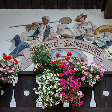Ettal - Germany - Chalet Art And Flowers by ultimateplaces