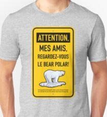 le bear polar sign/gold Unisex T-Shirt