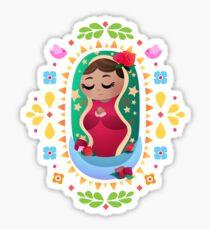 Mini La Virgen de Guadalupe Sticker