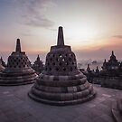 Borobodur temple by SinaStraub