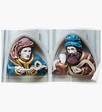 Last Judgement Sculptures - Minster - Bern Poster
