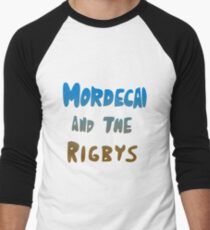 Mordecai and the Rigbys Men's Baseball ¾ T-Shirt
