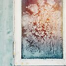 Wintertime - Closeup of Ice Crystals in Old Window by visualspectrum