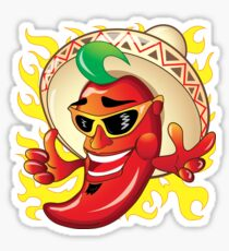 Flamin' Hot Pepper Sticker