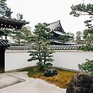 Japanese Temple in Kyoto by visualspectrum