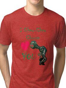 I Chew-Chew Choose You Tri-blend T-Shirt