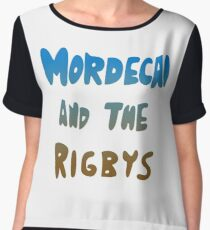 Mordecai and the Rigbys Chiffon Top