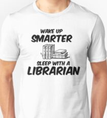 Sleep With A Librarian Unisex T-Shirt