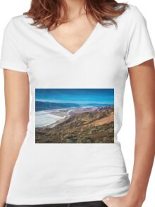 Dantes View Women's Fitted V-Neck T-Shirt