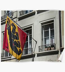 Coat Of Arms - Bern Old City - Switzerland Poster