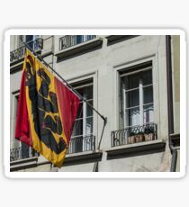 Coat Of Arms - Bern Old City - Switzerland Sticker