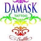 Rainbow Pride Damask Tattoo Seattle by damasktattoo