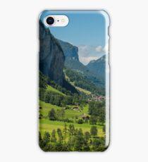 Lauterbrunnen Valley - Swiss Alps - Switzerland iPhone Case/Skin