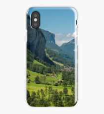 Lauterbrunnen Valley - Swiss Alps - Switzerland iPhone Case