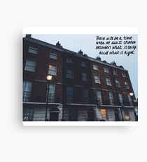 the order HQ- right and easy quote Canvas Print