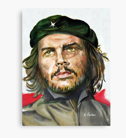 Che Guevara painting poster Canvas Print