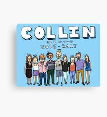 Collin Focus Canvas Print