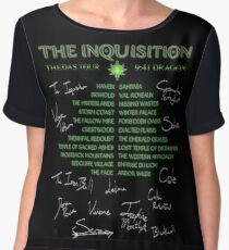 Inquisition Concert Tour Chiffon Top