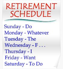 Funny Retirement Posters Redbubble