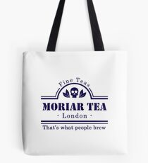 MoriarTea: That's What People Brew Tote Bag
