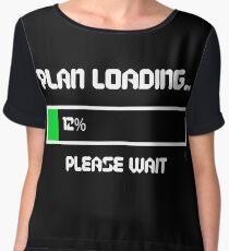 12 Percent of a Plan Chiffon Top