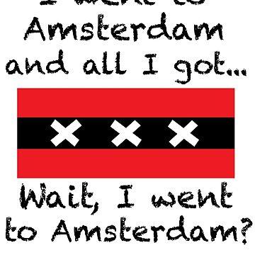 Amsterdam Tourist Tee by JaySykesMedia