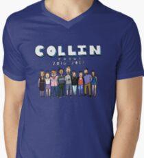 Collin Focus Men's V-Neck T-Shirt