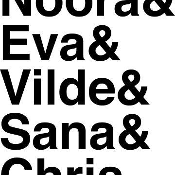 SKAM girls by whoviandrea
