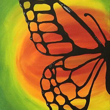 Summer butterfly by Alinton12