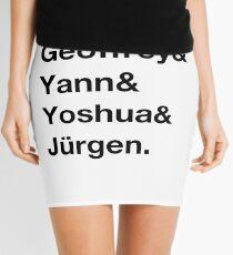 Deep learning quartet Mini Skirt